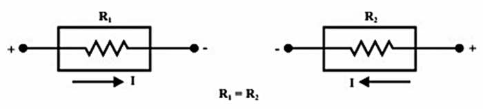 a circuit with bilateral element