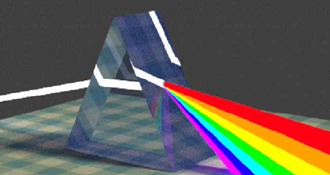 prism light refraction