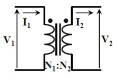 high frequency transformer schematic diagram