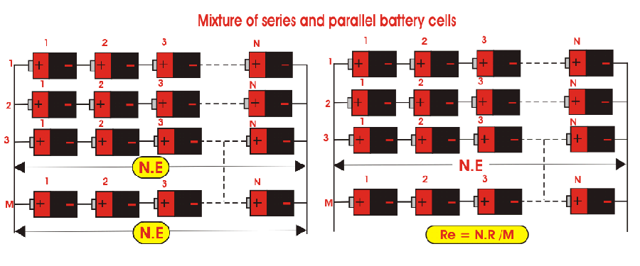 series parallel batteries