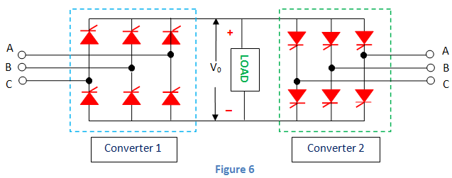 three phase dual converter