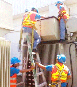 maintenance of transformer