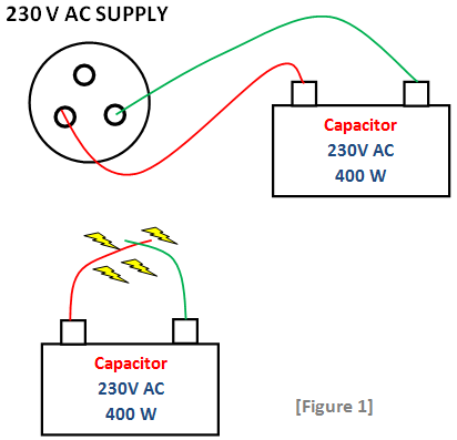 traditional method to test capacitors