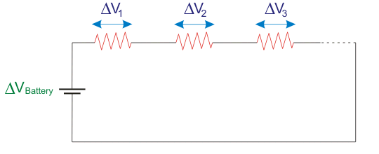 voltage in series