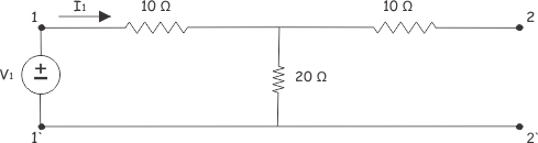 transfer impedance voltage source