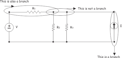 branch of electric circuit