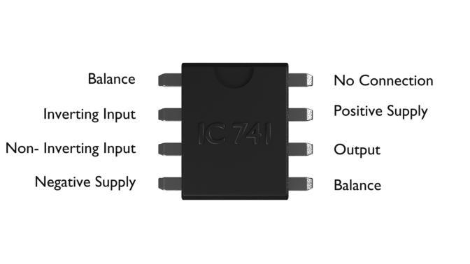 ic 741 pin configuration