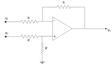 circuit of substractor