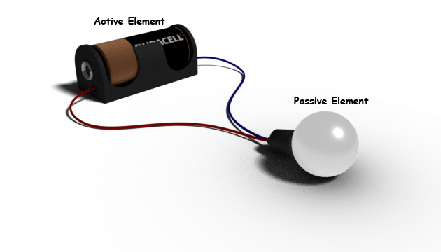 active passive circuit elements