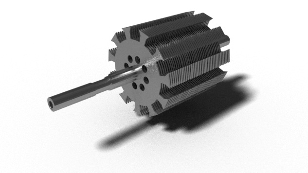 Cylindrical Rotor Type