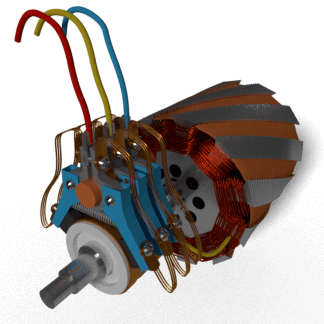 slip ring three-phase induction motor