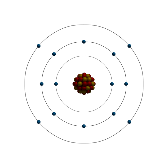 atomic structure of silicon