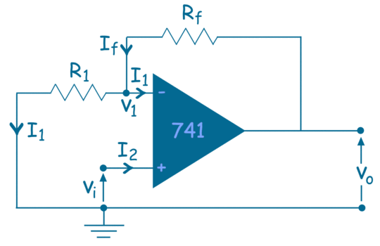 Non Inverting Operational Amplifier | Non Inverting Op Amp
