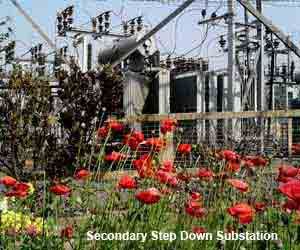 secondary step down substation