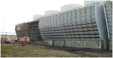 function of louver in cross flow cooling tower