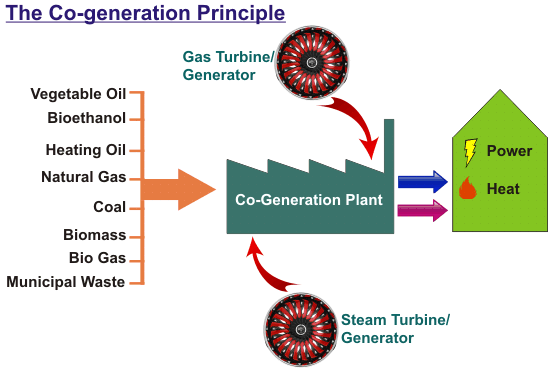cogeneration principle