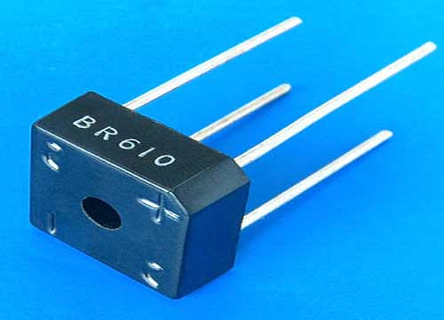 Full Wave Diode Bridge Rectifier