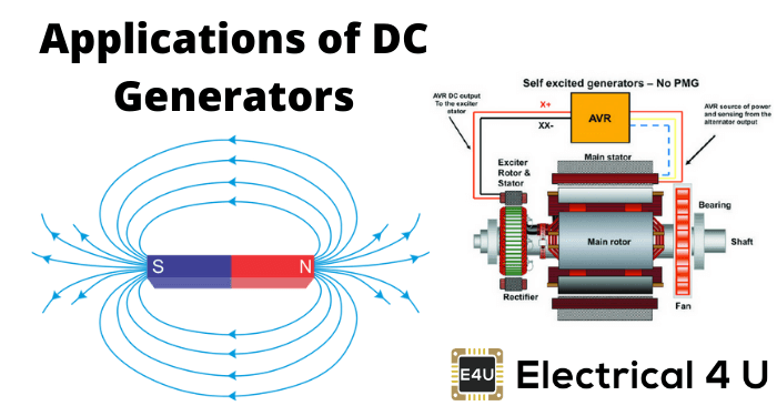 Applications Of Dc Generators