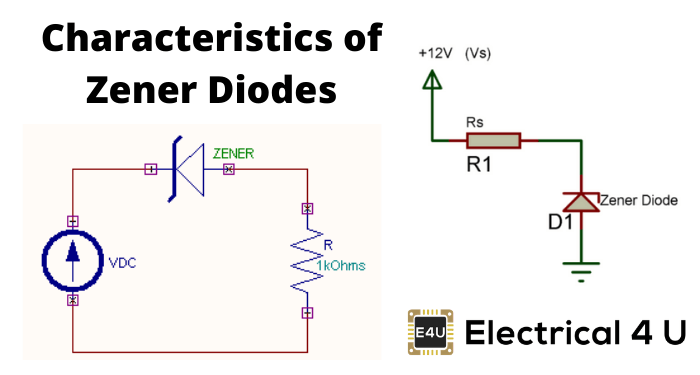 Characteristics Of Zener Diodes