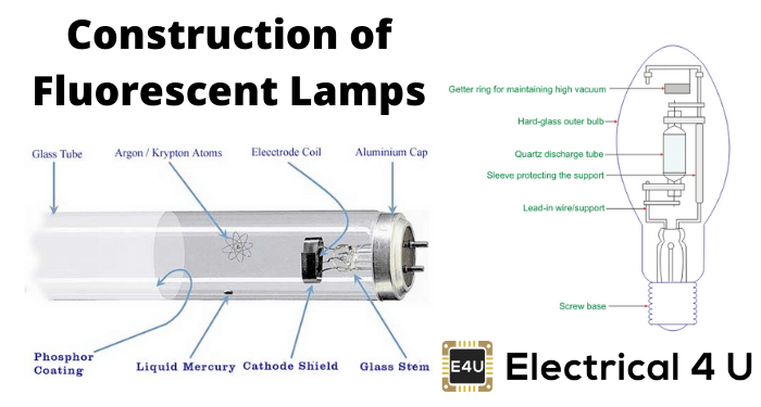 Construction Of Fluorescent Lamps