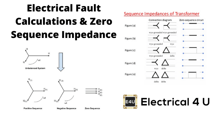 Electrical Fault Calculations Zero Sequence Impedance