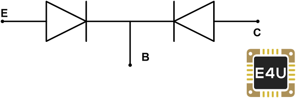 Equivalent Circuit of PNP Transistor