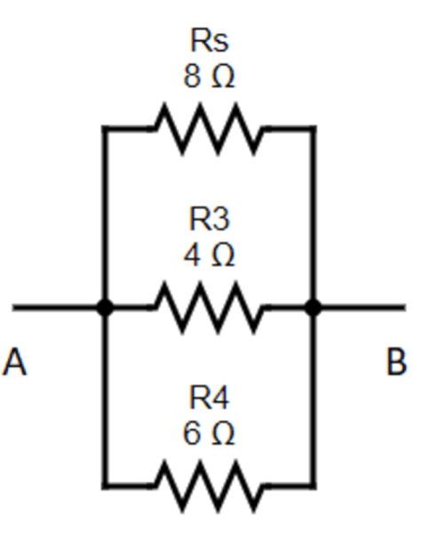 Equivalent Resistance Betwwen A And B Step 2