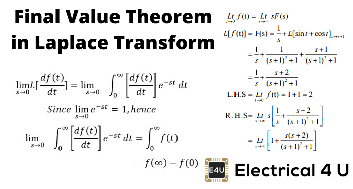 Final Value Theorem In Laplace Transform