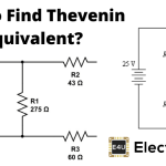 Thevenin Equivalent Voltage And Resistance: What is it? (Thevenin's Theorem)