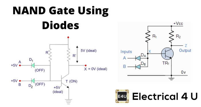 Nand Gate Using Diodes