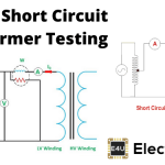 Open and Short Circuit Test of Transformer