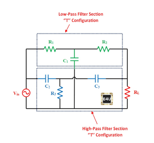 Passive Notch Filter Circuit