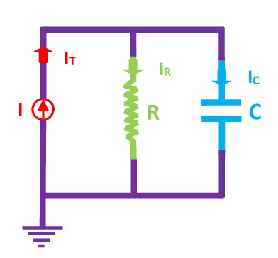 RC Circuit Current Divider