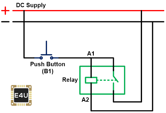 step 2 how to make a latching relay circuit