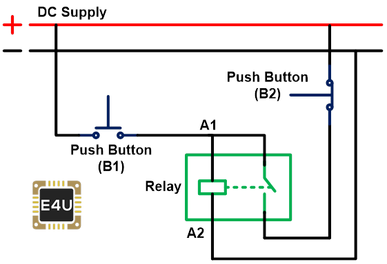 step 3 how to make a latching relay circuit