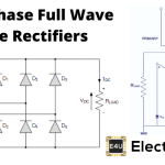 Three Phase Full Wave Diode Rectifier