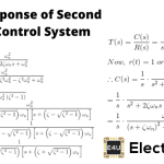Time Response of Second Order Control System (Worked Example)