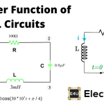 RL Circuit Transfer Function Time Constant RL Circuit as Filter
