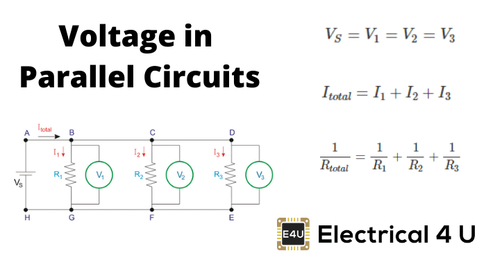 Voltage in Parallel Circuits (Sources, Formula & How To Add) | Electrical4UElectrical4U