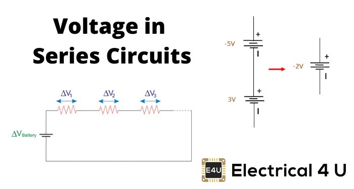 Voltage in Series Circuits (Sources, Formula & How To Add)