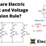 Voltage and Current Divider Rule (Formula & Example)