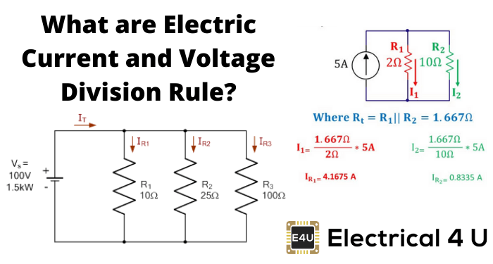 What Are Electric Current And Voltage Division Rule