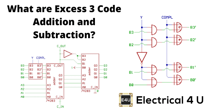 What Are Excess 3 Code Addition And Subtraction