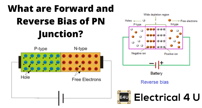 What Are Forward And Reverse Bias Of Pn Junction