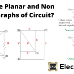 Planar and Non Planar Graphs of Circuit