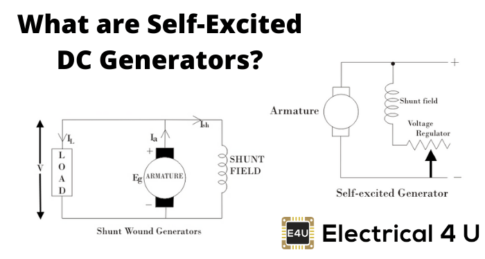What Are Self Excited Dc Generators