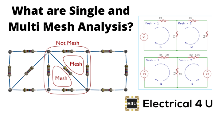 What Are Single And Multi Mesh Analysis