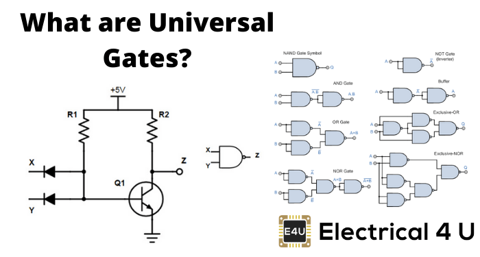 Universal Gate: NAND and NOR Gate as Universal Gates