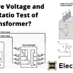 Voltage and Turn Ratio Test of Transformer