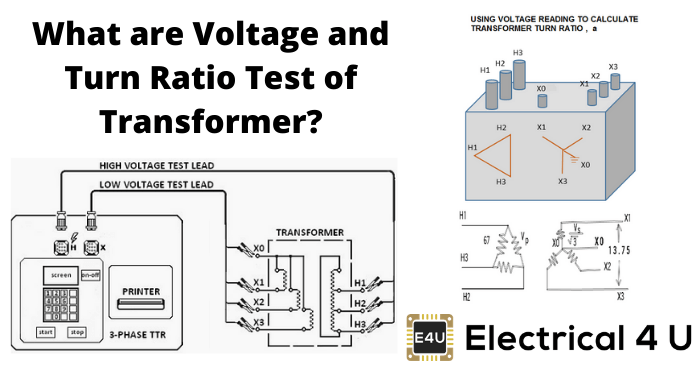 What Are Voltage And Turn Ratio Test Of Transformer